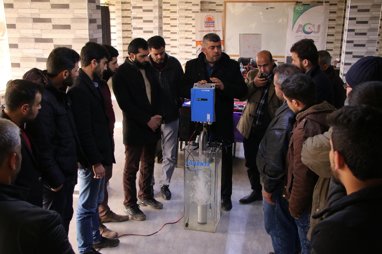 Idlib, Syria, January 2020