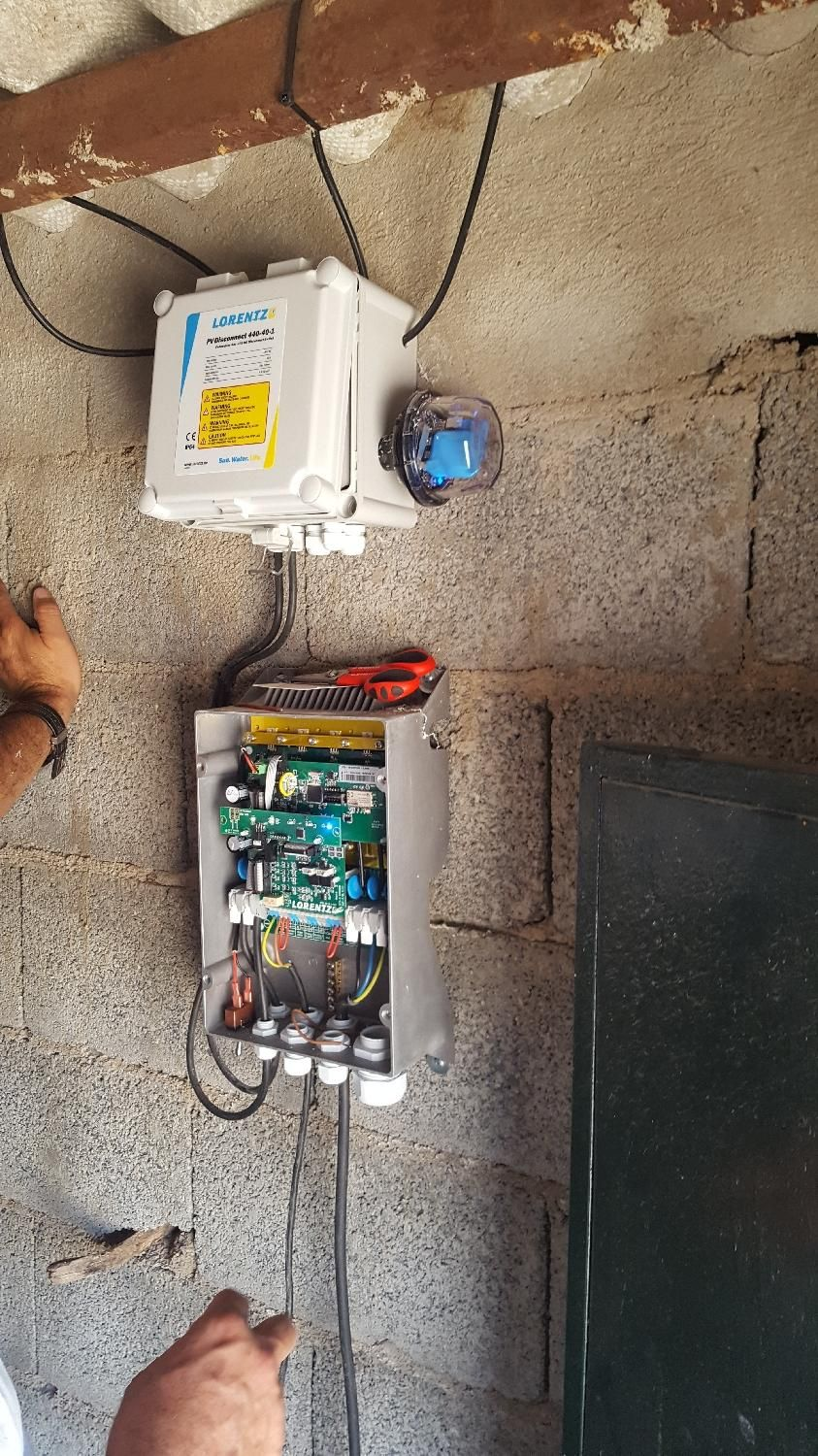 Lorentz Solar Pumping Reference In Montejicar Eagle Wiring Devices Philippines July 2017