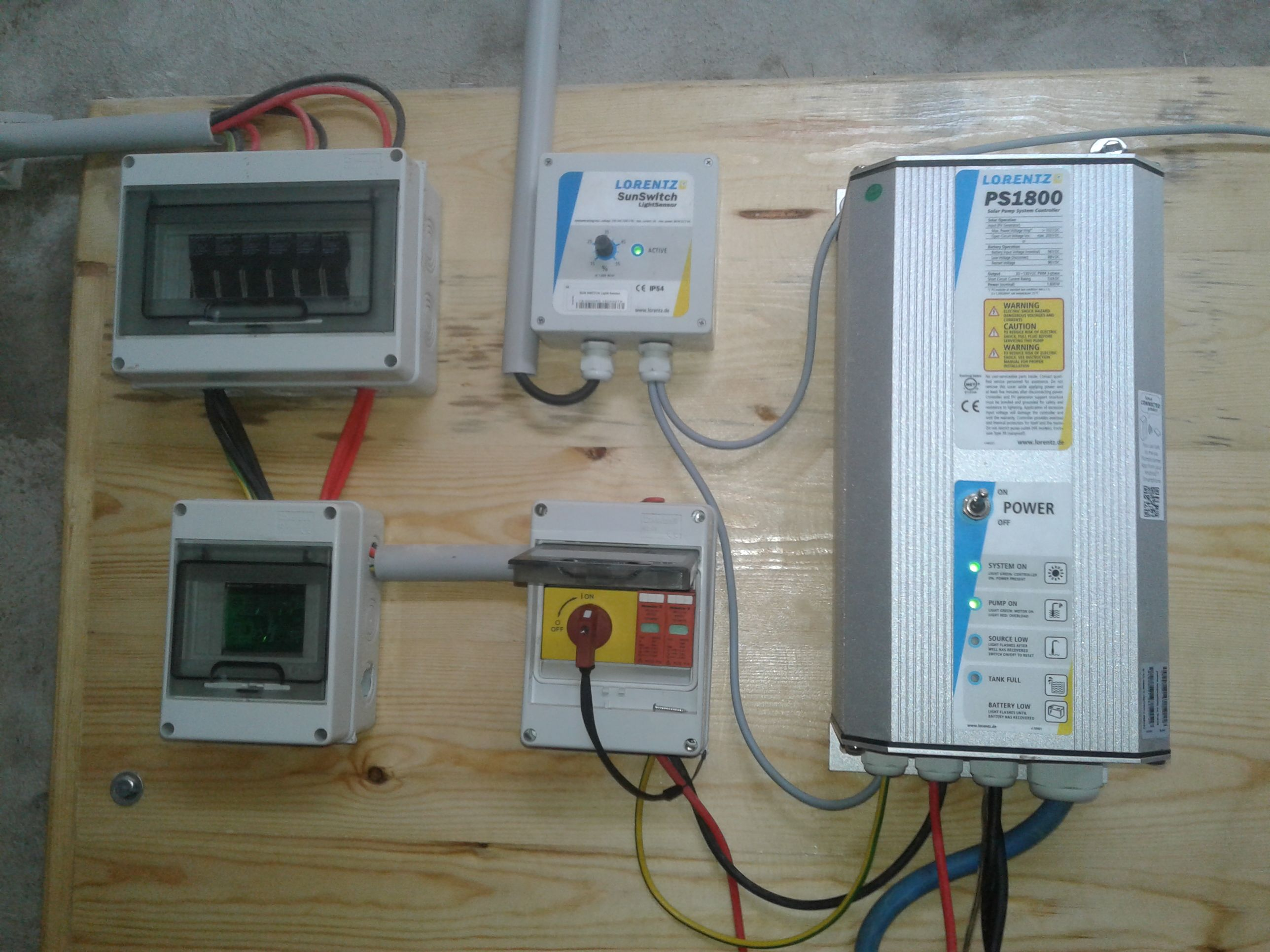 Lorentz Solar Pumping Reference In Teboursouk Eagle Wiring Devices Philippines March 2017