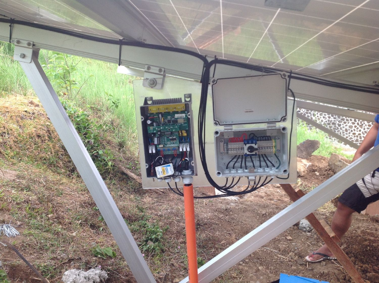 Lorentz Solar Pumping Reference In Sitio Aguho St Maharlika Infanta Eagle Wiring Devices Philippines March 2018