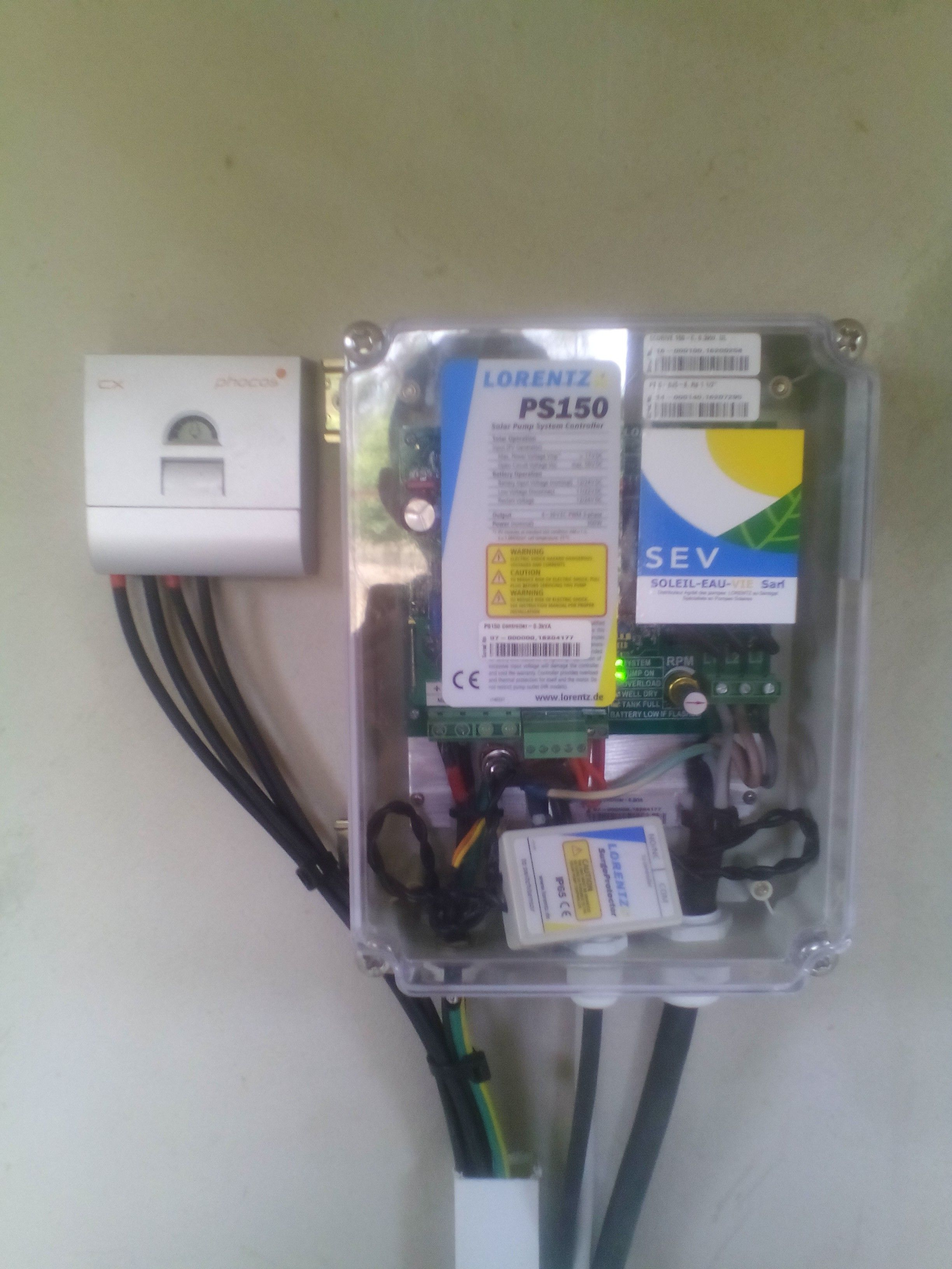 Lorentz Solar Pumping Reference In Albadar Eagle Wiring Devices Philippines March 2017